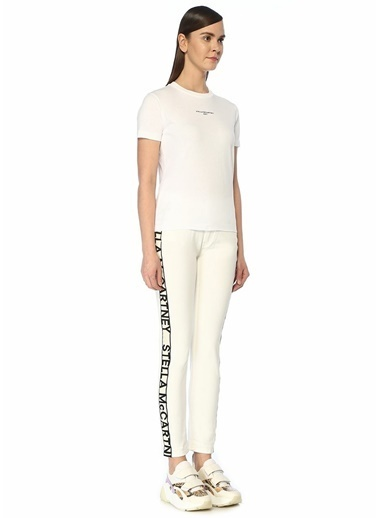 Stella McCartney Jean Pantolon Beyaz
